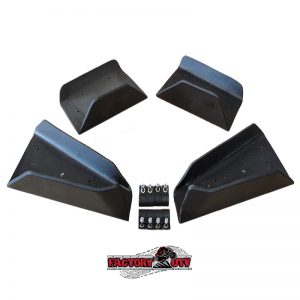 Factory UTV Polaris RZR-800 UHMW A-Arm Guard Package