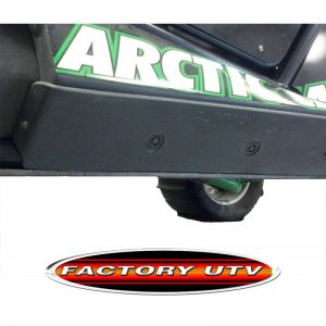 Arctic Cat Wildcat UHMW Rock Slider Guards