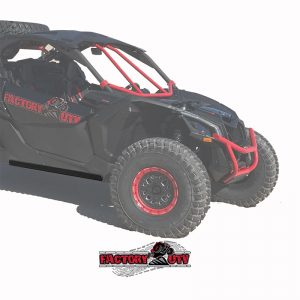 Can-Am Maverick X-3 Half Inch UHMW Rock Sliders,Can-Am Maverick X-3 Three Eighth Inch UHMW Rock Sliders