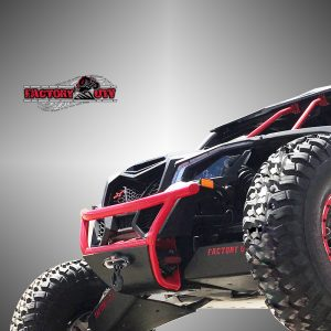 Can-Am Maverick X3 Series Steel Winch Bumper With UHMW Bashplate
