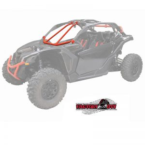 Factory UTV Can-Am Maverick X-3 Bolt-on Front Intrusion Bar