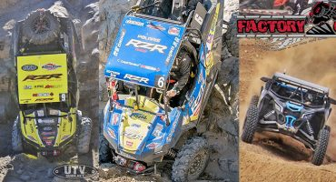 Factory UTV Support Racers Sweep Spots 1-9 At 2018 King Of Hammers
